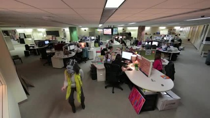 Nat Geo Channel Office Harlem Shake