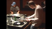 More Double Skratch Drumming Experiments. Rafik And Qbert.flv