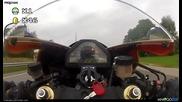 Моторист играе Super Mario !!!
