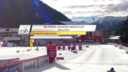 Davos 15.12.2013 Cross Country Highlights - mens
