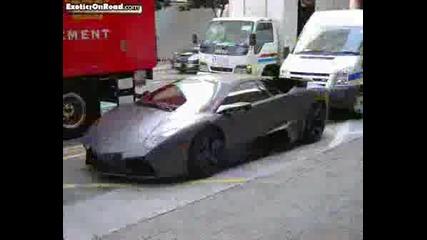 Exclusive !!! Lamborghini Reventon on the roads