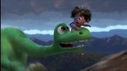 Добрият динозавър - Уолт Дисни и Пиксар # бг трейлър (2015) The Good Dinosaur official us trailer hd