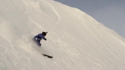 Екстремни спускания (Snowboard freeride tour) част 2