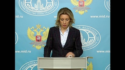 Russia: Any invasion of Syria will be considered illegal - Zakharova