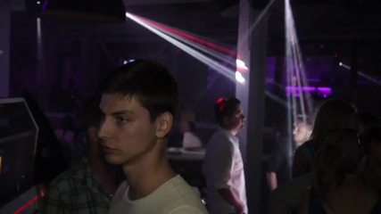 Topless DJ Milana in Planet Club Sofia (12.06.2015)