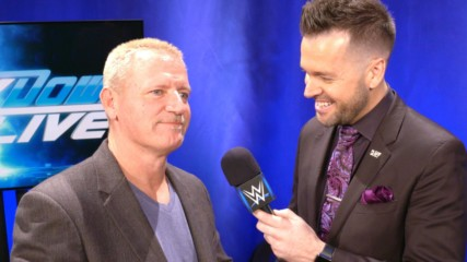 What is Jeff Jarrett looking forward to at WWE TLC?: WWE.com Exclusive, Dec. 11, 2018