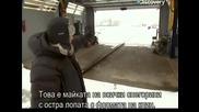 Ловци на митове - Сблъсък с кола и снегорин - с Бг превод