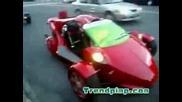 Супер Як Триколесен Автомобил