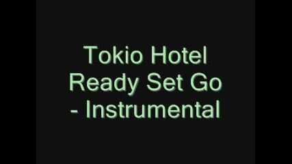Ready Set Go Instrumental