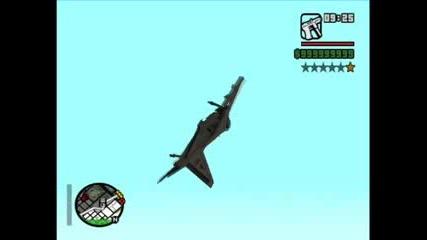 Gta San Andreas - Pro със самолет