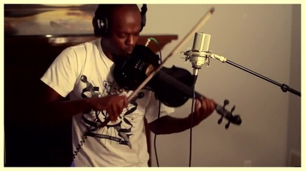 Изумителен Дъбстеп с Цигулка! -bassnectar and Ellie Goulding Lights - The Mad Violinist