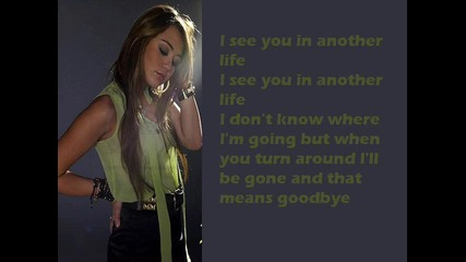 Miley Cyrus - See you in another life Lyrics