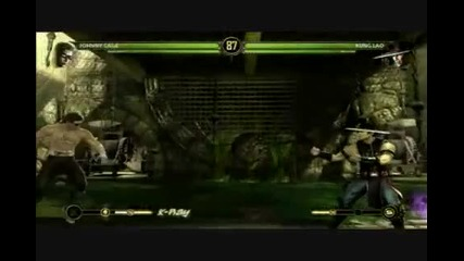 Mortal Kombat Gameplay E3 2010