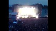 Metallica В София - Началото На Концерта