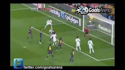 Барселона 1 : 3 Реал Мадрид Купа на краля