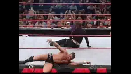 Wwe Jeff Vs. Randy Orton
