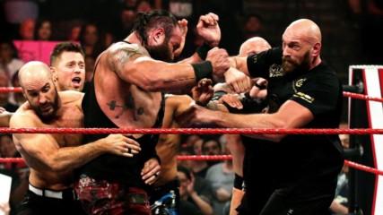 Braun Strowman aur Tyson Fury ne kiya brawl: Raw, Oct. 8, 2019