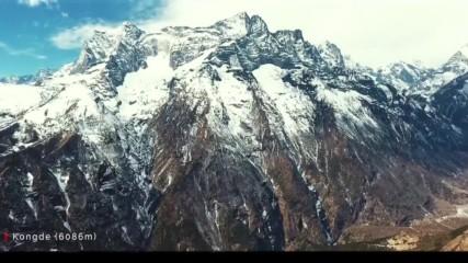 Дрон в Хималаите