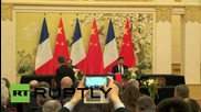 China: Xi Jinping and Hollande reach climate change consensus