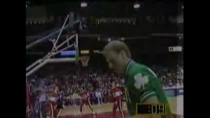 Larry Bird - Three Point Shoot
