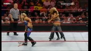 Raw 06/29/09 Kelly Kelly vs M. James vs Beth vs Roza [1 contenders match for Divas Championship ]