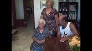 104 годишна баба в Бари - Италиа