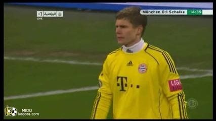 02.03.2011 Байерн Мюнхен 0 - 1 Шалке 04 гол на Раул