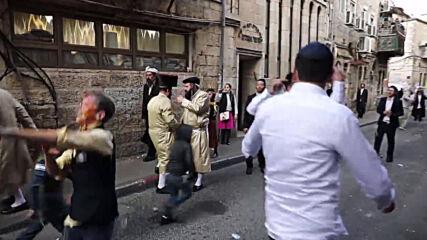 Israel: Hundreds of ultra-Orthodox Jews flout COVID restrix to celebrate Purim on streets of Jerusalem