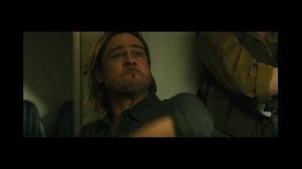 Откъс от филма Z-та световна война (премиера 28 юни)