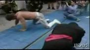 NJPW Wild Pegasus vs. Great Sasuke - В Памет На Крис Беноа