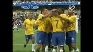 15.06 Бразилия - Египет 4:3 Жуан гол ! Купа на Конфедерациите