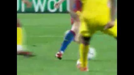 Шампионска лига:barcelona - Arsenal 3:1 2011 г. - Голове и запомнящи се моменти