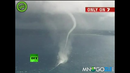 Торнадо в морето