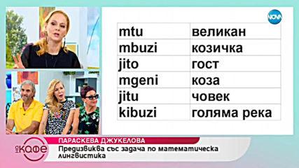 """""""На кафе"""" с Параскева Джукелова (04.06.2019)"""