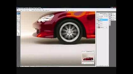 Photoshop Virtual Tuning Honda Acura