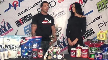 Мариян Димитров – световен шампион с продуктите на Amix