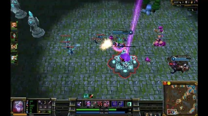 League of Legends Varus [gameplay/commentary] w/ koced 05/06/2012