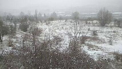 """От """"Моята новина"""": Снежно от Перник"""