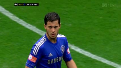 Еден Азар срещу Манчестър Сити