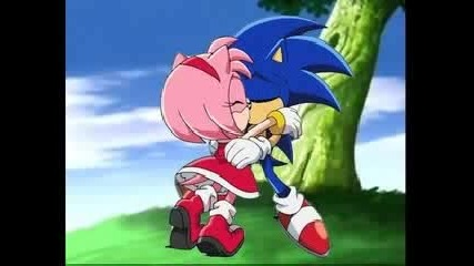 sonic and amy best friends