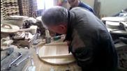 Производство на дървени дъски и кръгли талари
