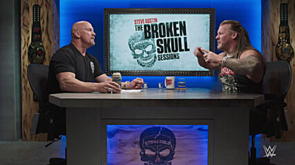 """Stone Cold"" and Chris Jericho rewatch their funniest moments: Broken Skull Sessions extra"