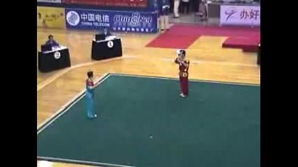 Kung Fu - Wushu - Toicha Spear x 2 Broadswords