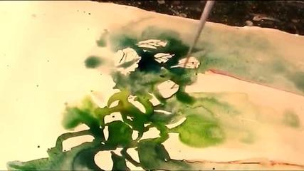 Рисуване на растение /акварел/