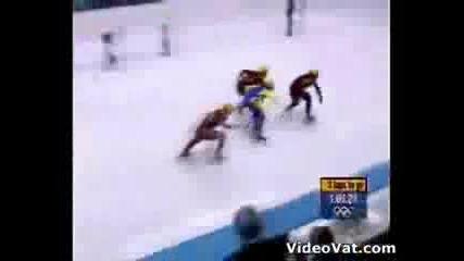 Най - големия късметлия на олимпийски игри