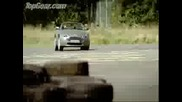 Bbc - Aston Martin V8 Vantage vs Man on Jet Powered Rollerskates! Top Gear
