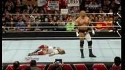 Ортън, Кейн и Батиста пребиват Браян и улесняват Играта ноо.. - Първична сила 07.04.14 г.