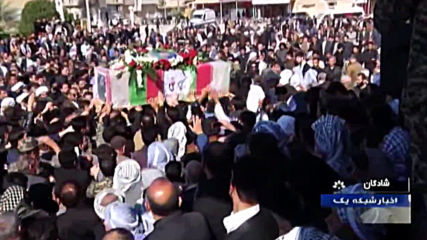 Iran: Thousands gather for funeral of local IRGC commander