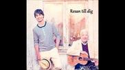 Alexander Rybak - Resan till dig (swedish and english) lyrics