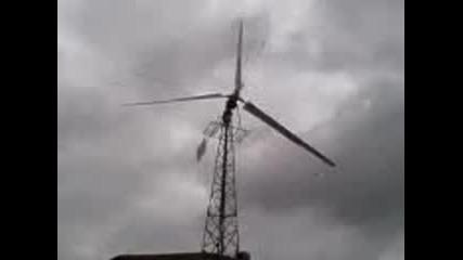 Ветрогенератор при непостоянна посока и скорост на вятъра